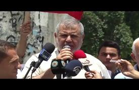 """مسيرة في غزة تطالب بإنهاء """"الانقسام الفلسطيني"""""""