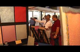 افتتاح المعرض التجاري الدولي لمعدات البناء في بيروت