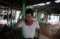 """""""ميانمار"""" تغلق مسجدا ومدرسة في قرية للمسلمين"""