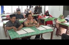 نشاط لمدارس تحفيظ القرآن للمكفوفين في إندونيسيا خلال رمضان