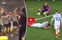 لاعبو ويلز يسخرون بطريقة هستيرية من خروج إنجلترا (فيديو)