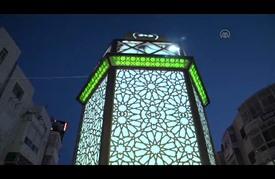 """رام الله تضيء """"فانوس"""" رمضان وسط لفيف مسلم ومسيحي"""
