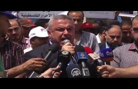 مسيرة بغزة إحياء للذكرى الـ(49) لحرب عام 1967