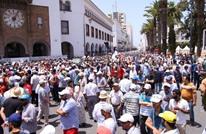 مئات الآلاف من المغاربة يحتجون تضامنا مع حراك الريف (شاهد)