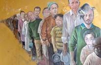 فنان سوري يحول زعماء العالم إلى لاجئين (صور)