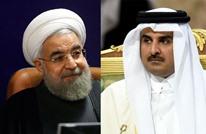 اتصال هاتفي بين أمير قطر والرئيس الإيراني