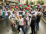 الوحيدة عربيا.. فلسطين تعرض تراثها بكرنفال برلين (صور)