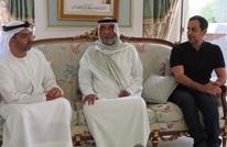 الحوثي يعلّق على ظهور خليفة بن زايد في فرنسا