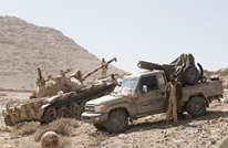 """تقدم وسيطرة كبيرة للجيش اليمني بجبل """"هيلان"""" بمأرب"""