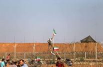 """شهيدة و100 مصاب فلسطيني بجمعة """"من غزة إلى حيفا"""" (صور)"""