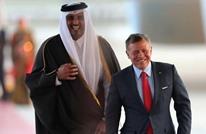 ملك الأردن يتسلم أوراق اعتماد سفير قطر