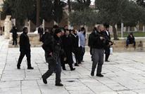 وزير إسرائيلي برفقة مستوطنين يقتحمون المسجد الأقصى