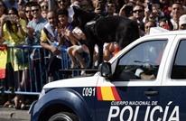 كلب بوليسي ينعش قلب شرطي في إسبانيا (شاهد)