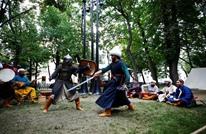 احتفاء روسي بالجيش العثماني داخل مهرجان بموسكو (شاهد)