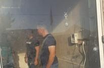 الاحتلال يطلق النار على مقر أمني للسلطة في نابلس
