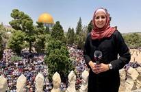 هكذا تفاعل معلقون مع إعلامية مسيحية ارتدت الحجاب بالأقصى