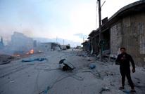 براميل متفجرة من النظام على إدلب وقصف روسي بريف حماة