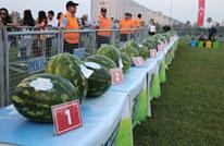 """مهرجان لـ""""البطيخ الأحمر"""" في ولاية أضنة التركية"""