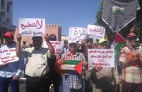 وقفة شعبية بالمغرب تندد بصفقة القرن وترفض ورشة البحرين (صور)