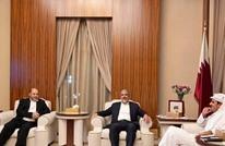 أمير قطر يلتقي مشعل وقيادات حماس في الدوحة