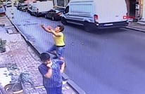 جزائري ينقذ طفلة سقطت من نافذة منزلها بإسطنبول (شاهد)
