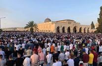 120 ألفا يصلون العيد بالأقصى رغم قيود الاحتلال (شاهد)