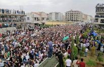 """عشرات الآلاف يودعون الساروت """"حارس الثورة السورية"""" (شاهد)"""