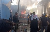 5 إصابات بتفجير سيارة مفخخة في عفرين بريف حلب (فيديو)