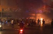 إصابات بمواجهات وسط بيروت وإحراق محال تجارية (فيديو)