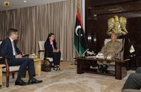 """""""حفتر هتلر ليبيا""""..وسم لكشف جرائمه ورفضا لزيارة سفير ألمانيا"""