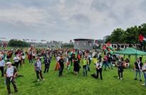 المئات يتجمعون في أمستردام رفضا لخطة الضم الإسرائيلية (شاهد)