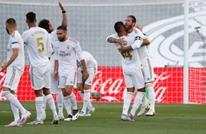 ريال مدريد يحقق عودة قوية بعد استئناف الليغا (شاهد)
