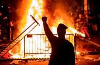 """البيت الأبيض محاصر بالمحتجين.. """"NYT"""": ترامب بالمخبأ (شاهد)"""