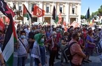 """مظاهرات في إيطاليا ضد خطط """"الضم"""" الإسرائيلية (صور)"""