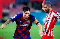 برشلونة يتعادل مع الأتليتيكو ويواصل إهدار النقاط بالليغا