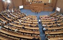 رفع صورة لمرسي ببرلمان تونس وعبير موسى تنفجر غضبا (شاهد)