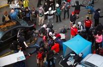 مسلح يقتحم مظاهرة بأمريكا ويطلق النار (شاهد)
