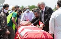 تشييع عائلة مسلمة قتلت في عملية دهس إرهابية بكندا (شاهد)