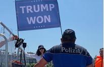 ابنة أخ بن لادن ترفع لافتة مؤيدة لترامب (شاهد)