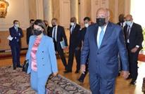 بيان مصري مقتضب عن أول زيارة تجريها المنقوش للقاهرة (صور)