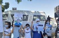 ذوو الأردنيين المعتقلين بالسعودية يعتصمون مجددا (صور)