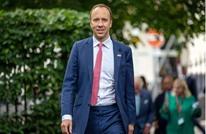 استقالة وزير الصحة البريطاني بعد فضيحة تقبيله مساعدته