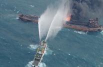 البحرية الإيرانية: غرق سفينة إمداد في خليج عمان دون ضحايا