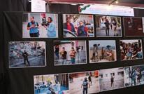 شاهد على الجريمة.. معرض يوثق مجازر الاحتلال في غزة (صور)