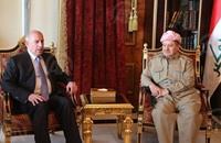 """بارزاني للمالكي: لا مكان للإرهابيين في """"كردستان"""""""
