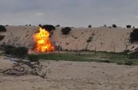 """""""سرايا القدس"""" تفجر دبابة إسرائيلية شمال قطاع غزة"""