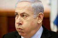 صواريخ غزة تهبط بشعبية نتنياهو إلى النصف