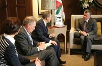 ناشطون أردنيون يتساءلون: أين الملك؟