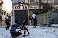 مصدر عسكري: الحر فجر مبان يتحصن بها جنود النظام