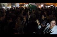 مسيرة حاشدة برام الله تضامنا مع غزة (فيديو+صور)